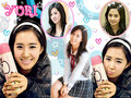 kwon yuri - yuri-black-pearl wallpaper