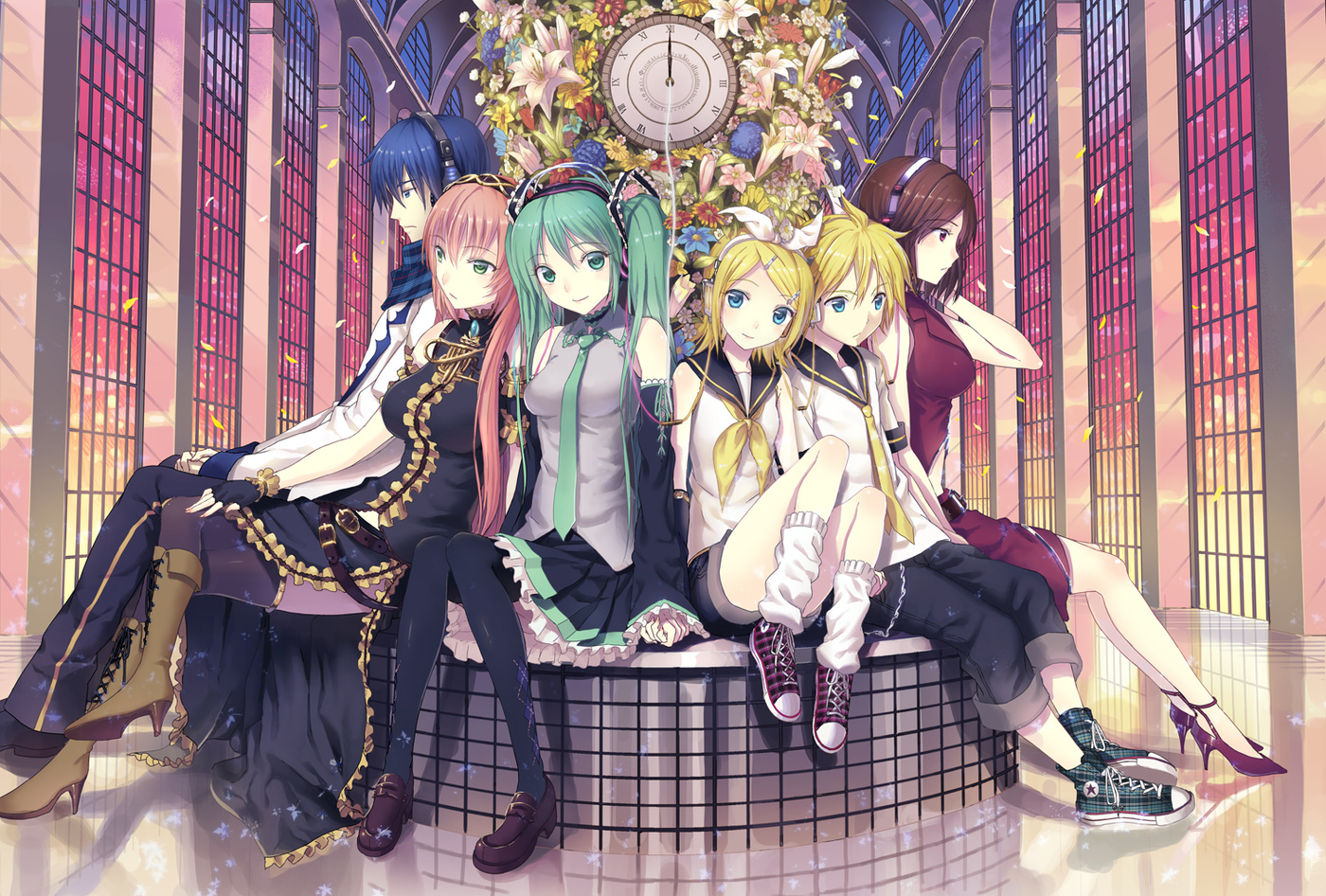len, rin and the others