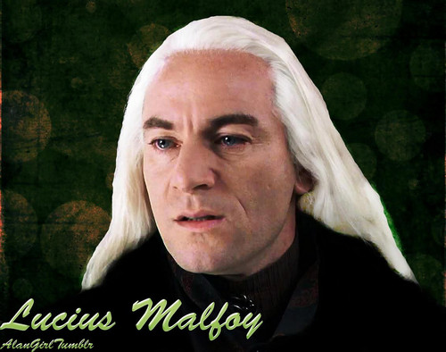 lucius malfoy 壁纸