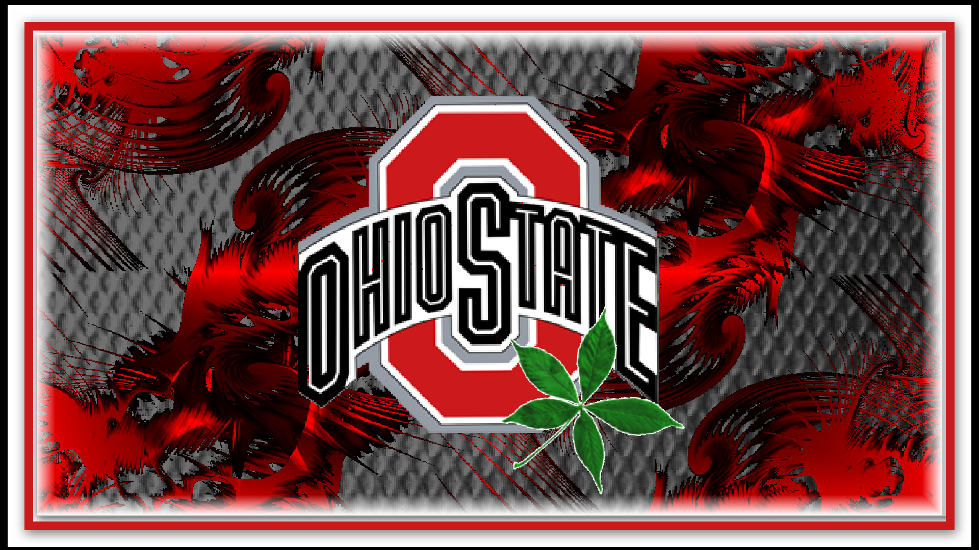 TRANSPARENT RED OHIO STATE - Ohio State Football Wallpaper
