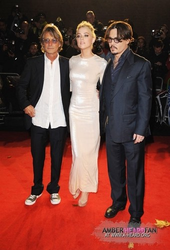 'The rum Diary' Londres Premiere