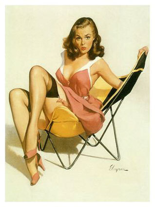 1950's Pin Up Girl