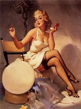 1950's Pin Up Girl