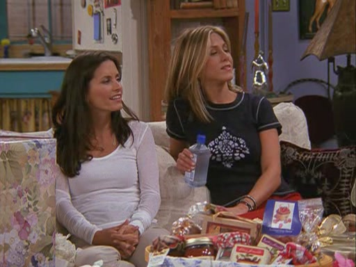 Monica and Rachel images 8x02 - The One With The Red Sweater ...