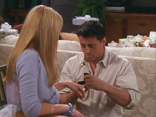 Phoebe & Joey images 8x02 - The One With The Red Sweater wallpaper ...
