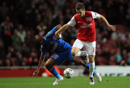 A. Ramsey (Arsenal - Olympique Marseille)