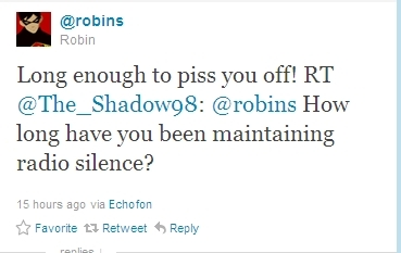 A rude Robin
