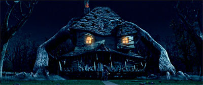 A very angry Monster House.