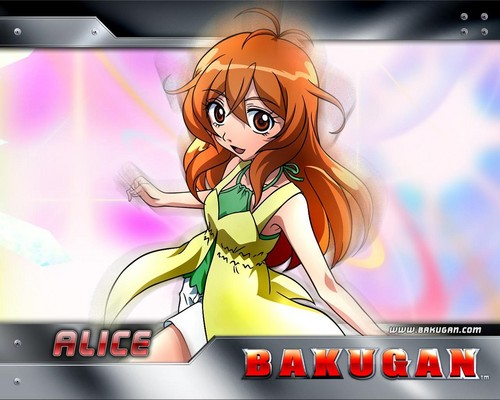 Bakugan and Sailor Moon! Hintergrund with Anime entitled Alice