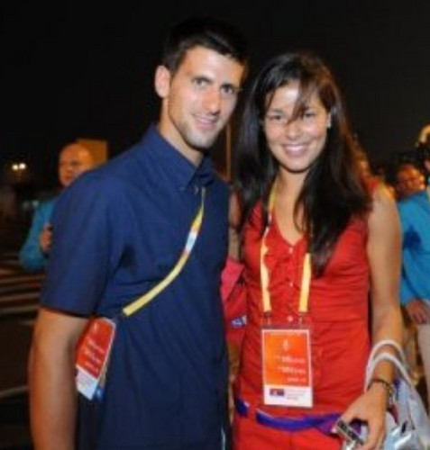 Ana and Novak together - novak-djokovic Photo