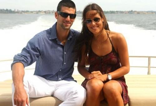 Ana and Novak together