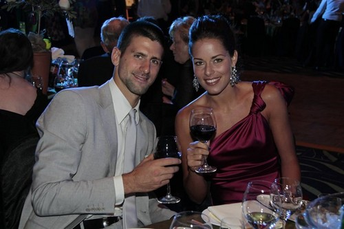 Ana and Novak together