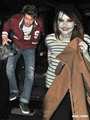 Andrew and Emma Stone in a Halloween Party
