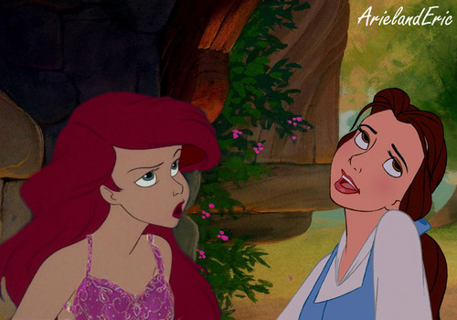 Another Ariel and Belle Fight