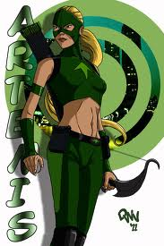 Young Justice achtergrond entitled Artemis