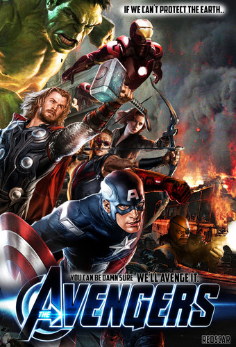 Avengers fã art