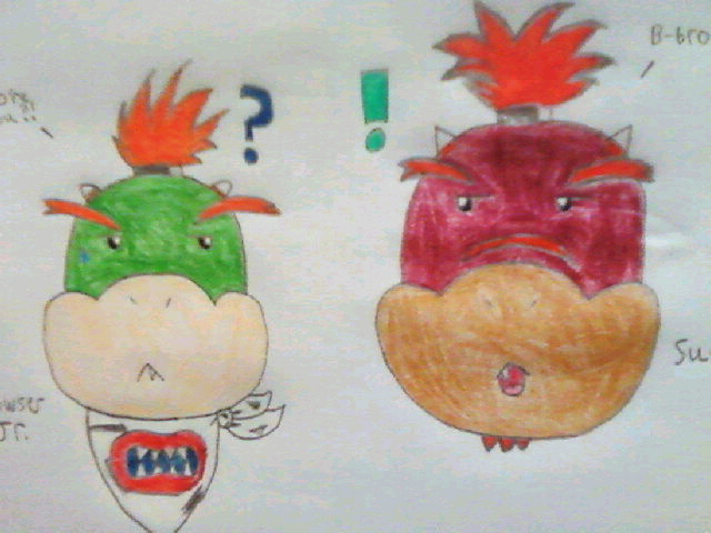 Bowser Jr Suade Super Mario Bros Fan Characters Photo 26596293 Fanpop