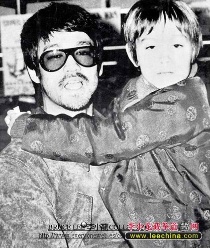Bruce with his son