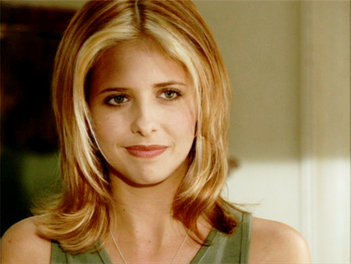 Buffy Summers karatasi la kupamba ukuta containing a portrait called Buffy Summers