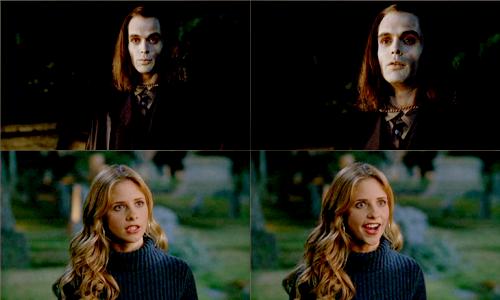 Buffy Summers karatasi la kupamba ukuta probably with a portrait entitled Buffy Summers