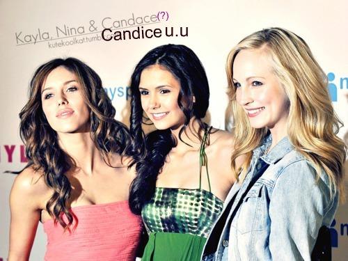 Candace? Nope. Candice. Yep