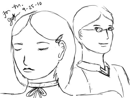 Characters, ships