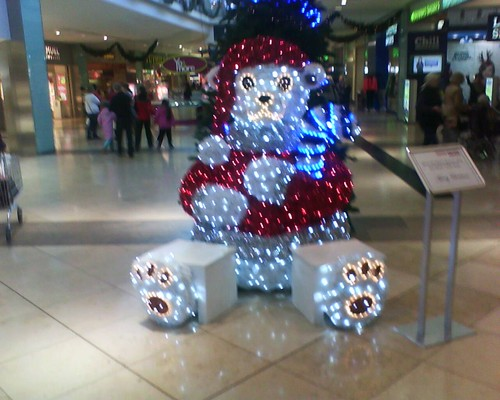 navidad at the mall