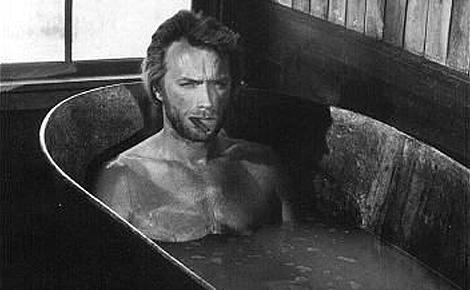 Clint In The Bath Tub....For Sylvie <3