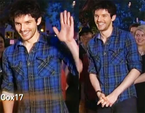 Colin Morgan wallpaper possibly containing a portrait called Colin in Brisbane