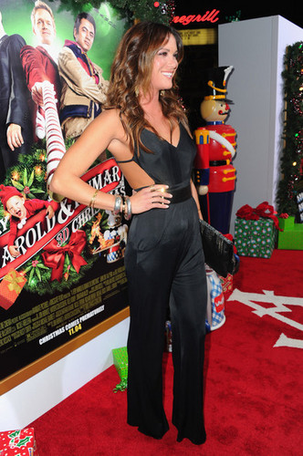 Danneel Harris @ the Premiere of 'A Very Harold & Kumar 3D Christmas'