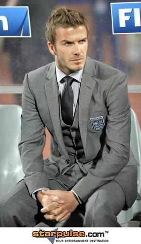 David Beckham hot stuff