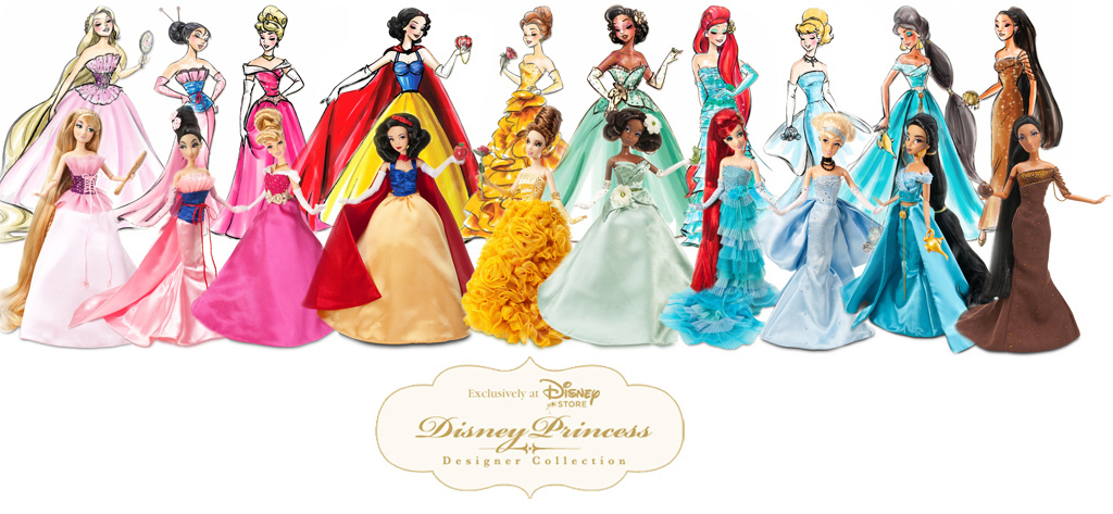 Disney princess collection doll disney princess photo 26535721 fanpop - Les classiques du design ...