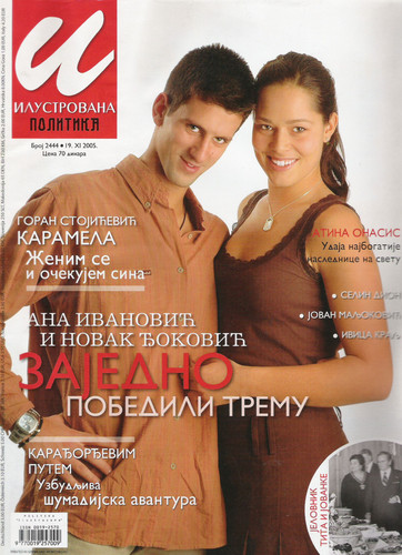 Djokovic loved Ivanovic