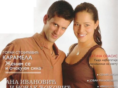Djokovic loved Ivanovic