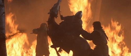 Dragonheart & Dragonheart 2 wallpaper containing a fire, a fire, and a air mancur called Dragonheart
