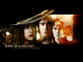 damon-and-elena - Elena and Damon wallpaper