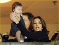 Eva Longoria & Harper Beckham Bond Over Soccer! - eva-longoria photo