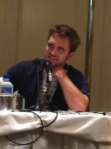 First Pics Of Rob BD LA press junket