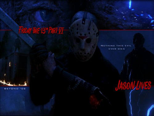 Jason Voorhees Hintergrund titled Friday the 13th Part 6: Jason Lives