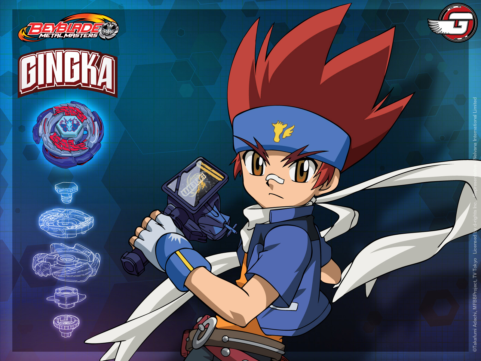 Beyblade Metal Fusion OC Characters images Gingka HD ...