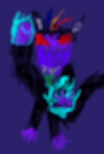 Great Ape Dark Wrath ready to attack