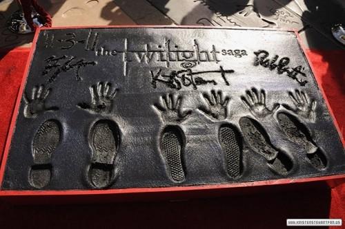 Hand & Foot Print Ceremony - November 3rd, 2011.