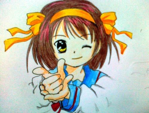 Haruhi Suzumiya ( made দ্বারা me )