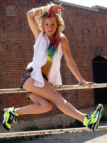 Heather Morris - Seventeen Magazine (November 2011)