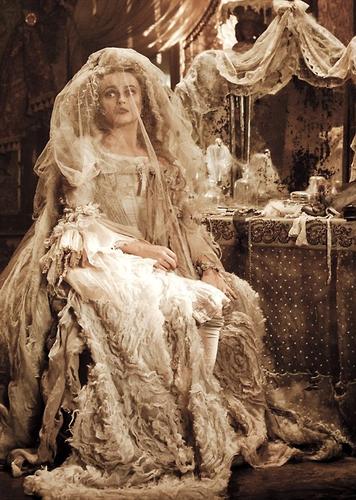 """Helena as Miss Havisham in """"Great Expectations"""""""