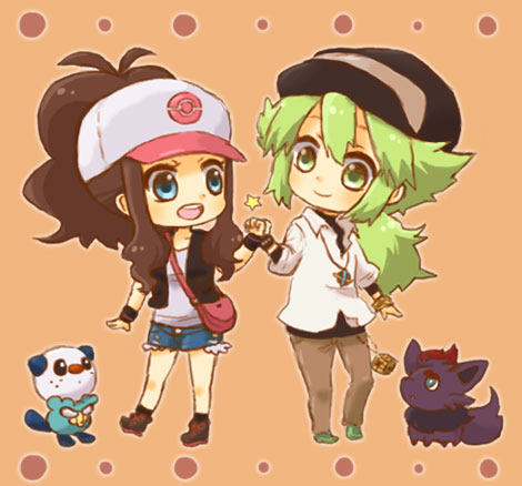 Hilda and N Chibi