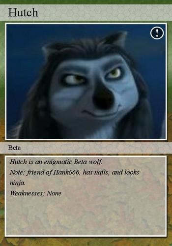 Hutch Trading Card