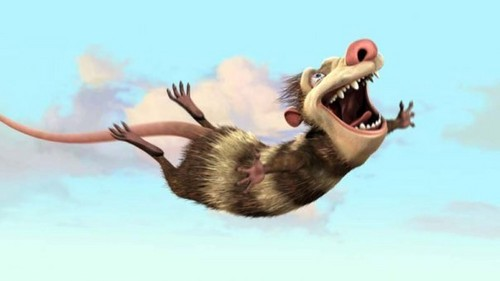 Ice Age 2 The Meltdown wallpaper entitled I belive I can fly!