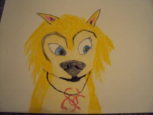I drew Katie