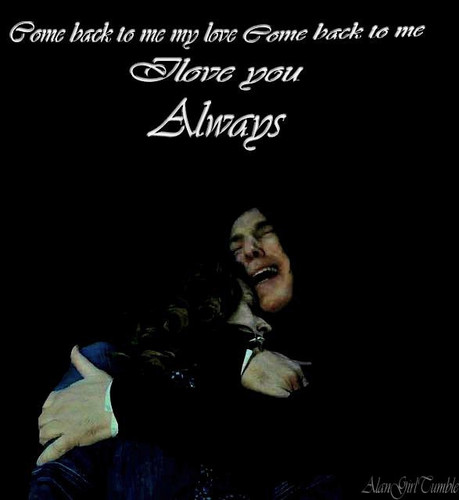 Severus Snape wallpaper possibly with a sign titled I love you always